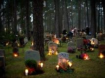 Skogskyrkogården, Alla helgons dag 111105